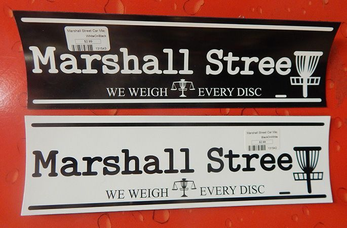 Marshall Street Car Magnet