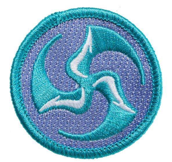 "2"" Huklab Trifly Patch"
