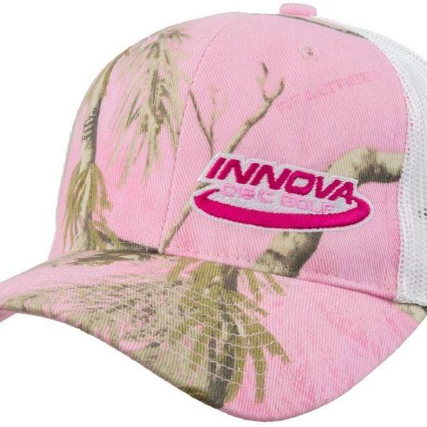Innova Adjustable Camo Mesh Hat