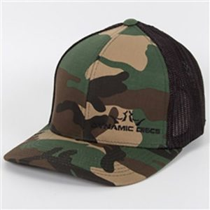 Dynamic Discs Camo Fitted Hat