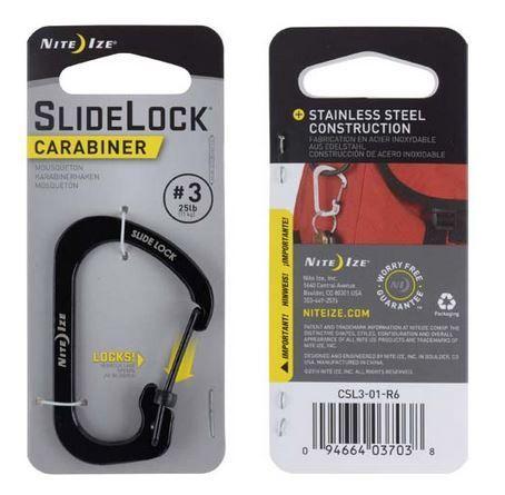Carabiner #3 Slide Lock