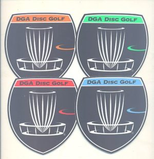 DGA Shield Sticker