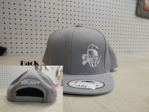 Buzzz Flat Bill Snap Hat, Solid