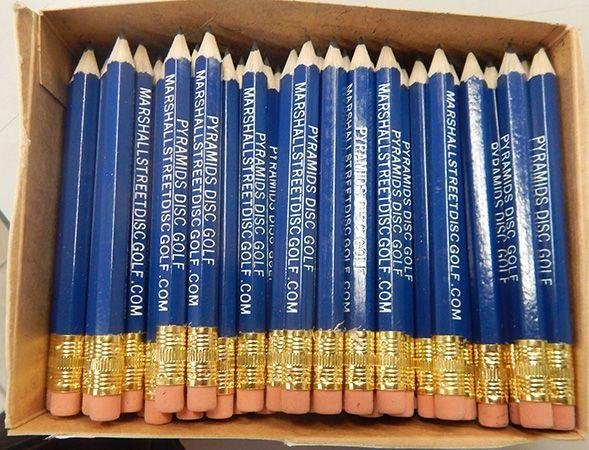 Pyramids Disc Golf Pencil
