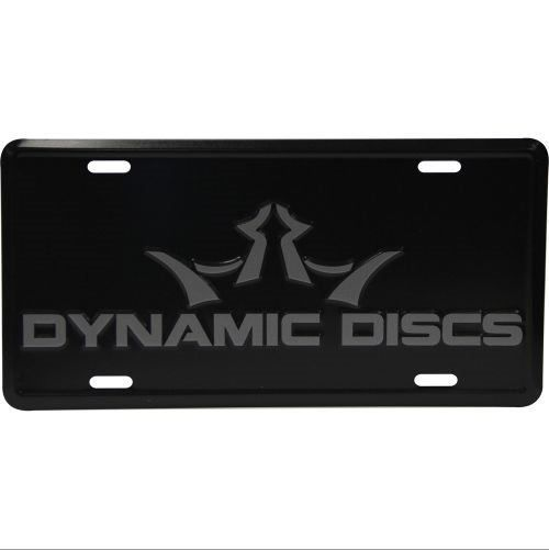 Dynamic Discs License Plate