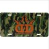 Dynamic Discs License Plate - Camo King D's