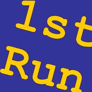 1st Run