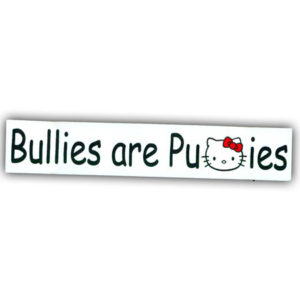Bullies Sticker