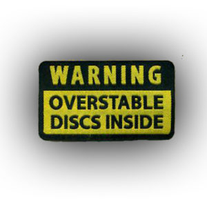 Warning Overstable Discs  Patch
