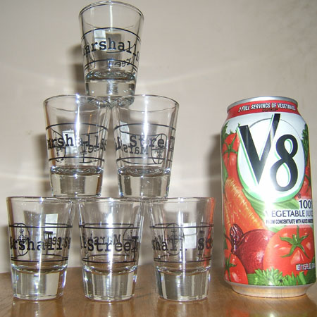 MSt Shot Glass