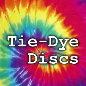 Tie-Dye Discs