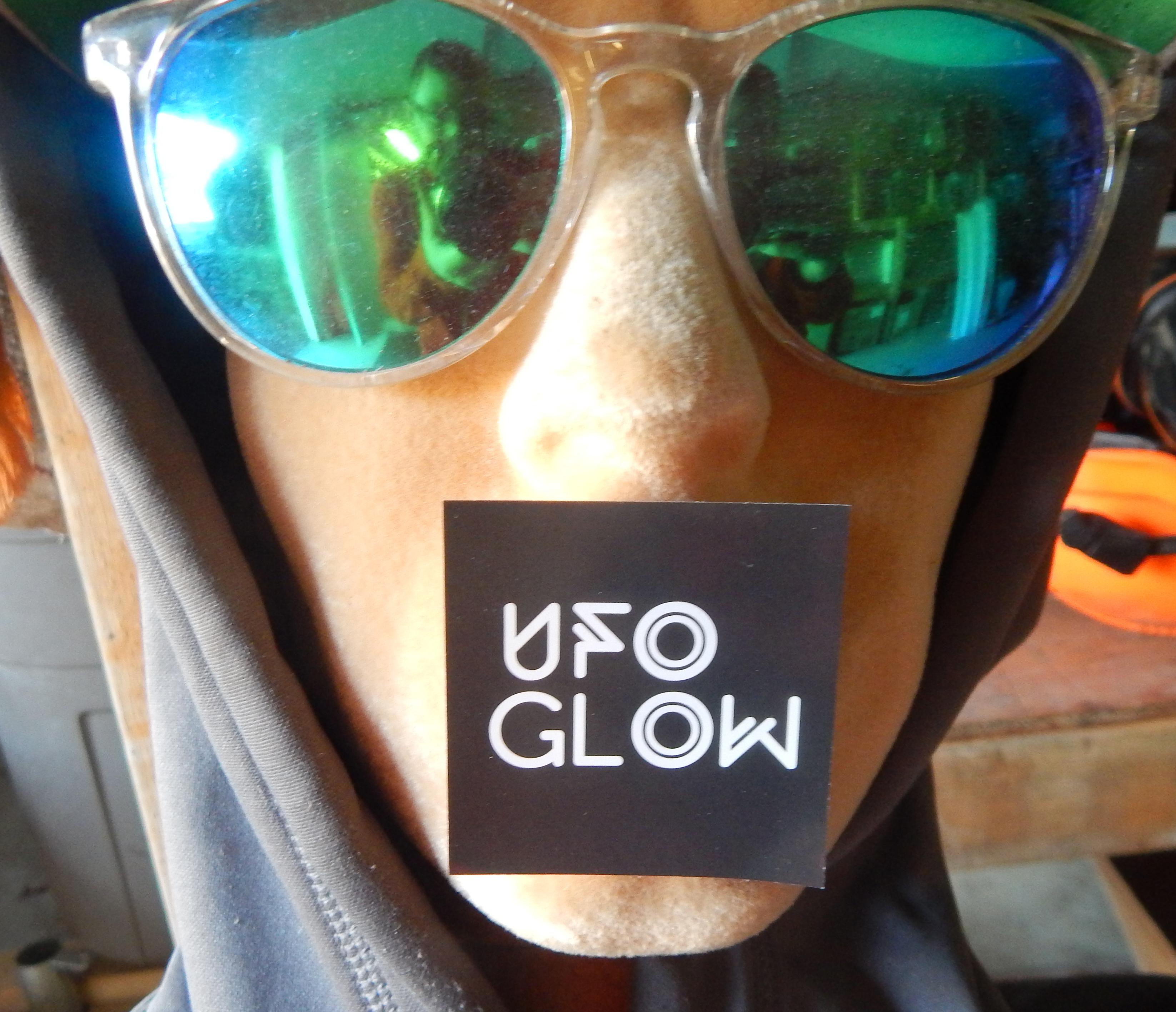 UFO Glow Sticker