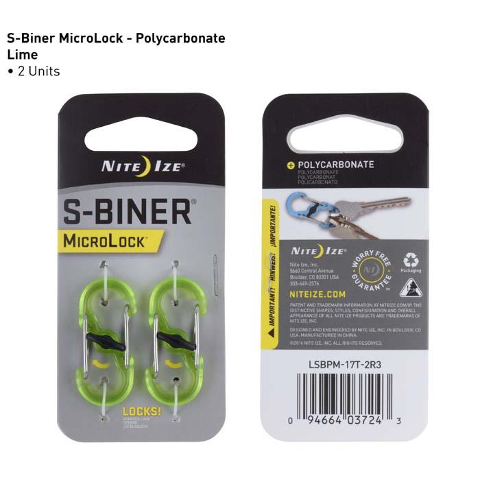 S-Biner MicroLock, Polycarbonat