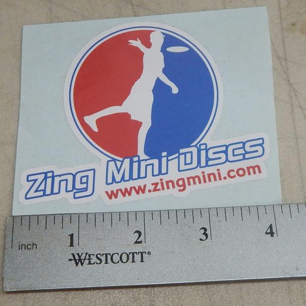 Zing Mini Discs Sticker