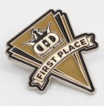 Dynamic Discs Pin - 1st Place, Gold