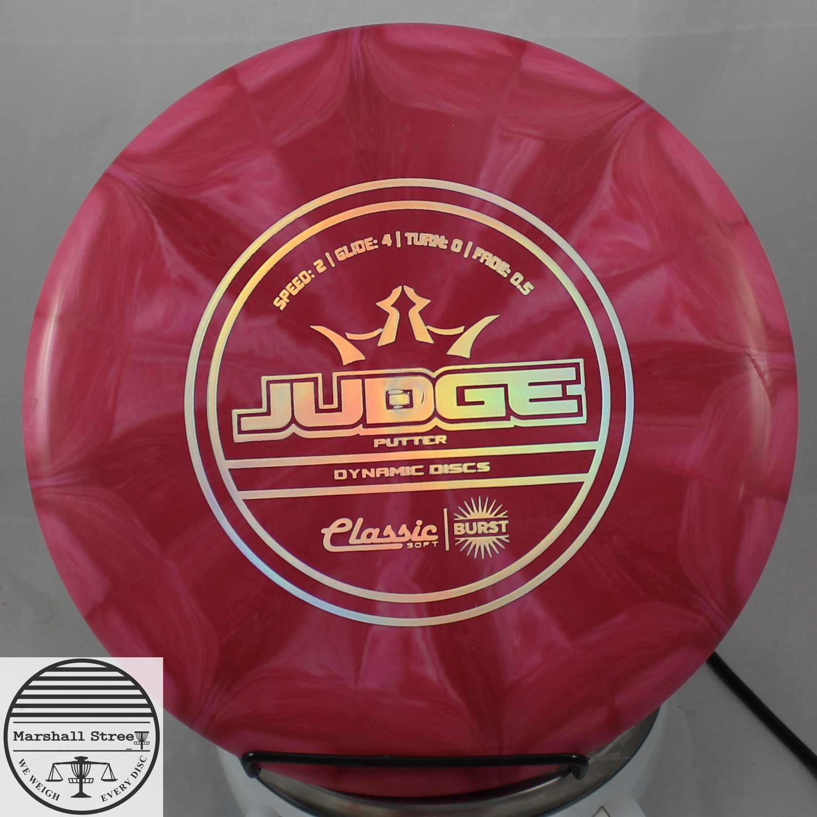 Classic Judge, Soft Burst