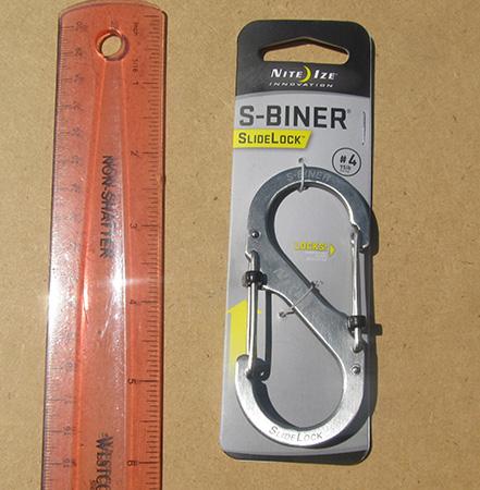 S-Biner #4 Slide Lock