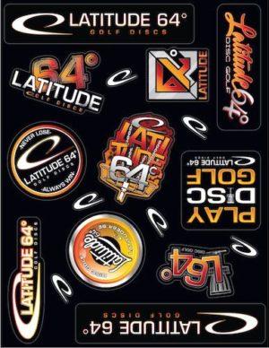 Latitude 64 Sticker Sheet