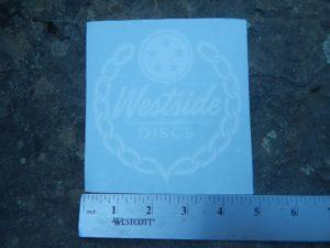 Westside Discs Logo Vinyl