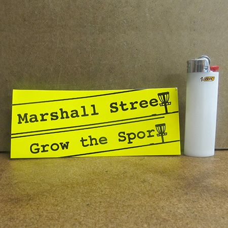Grow The Sport Sticker