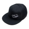 MVP FlexFit Fitted, Orbit Hat - Black, Small Medium