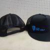 DGA Mesh Flatbill Snapback - Black/Blue, Snapback