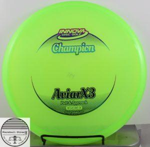 Champion AviarX3, Goobered