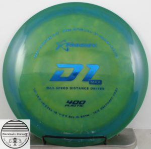 Prodigy D1 Max, 400