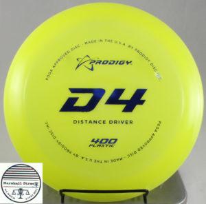 Prodigy D4, 400
