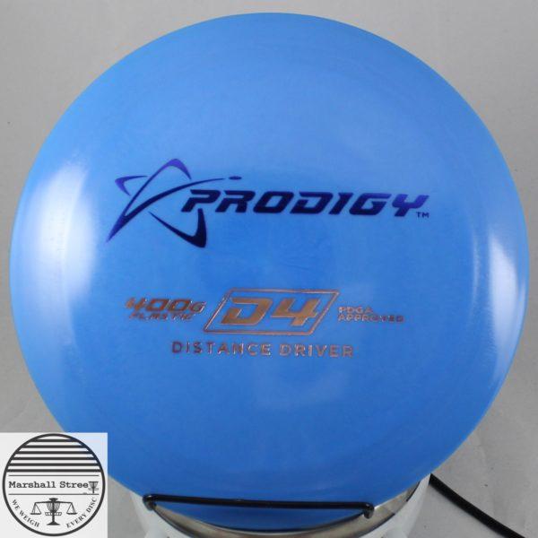 Prodigy D4, 400G