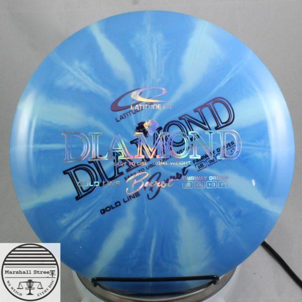 X-Out Gold Line Diamond, Burst