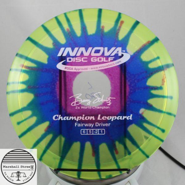 Tie-Dye Champion Leopard