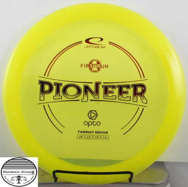 Opto Line Pioneer, 1st Run