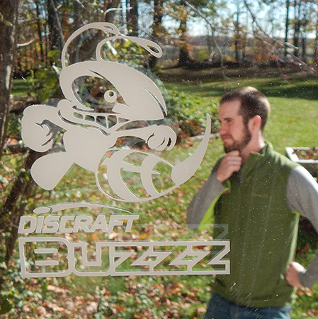 Buzzz Vinyl Sticker