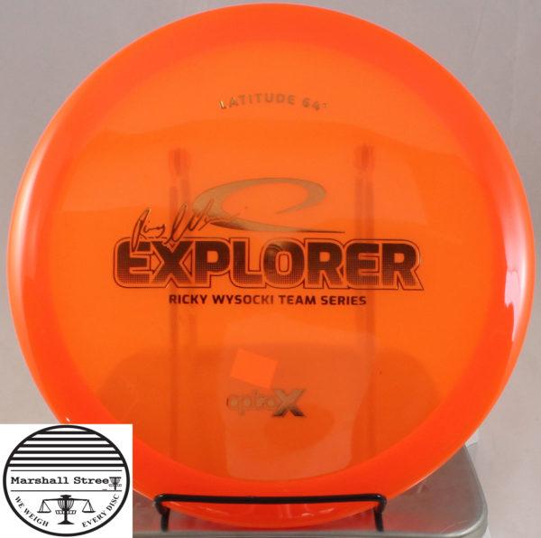 Opto-X Explorer, Ricky Wysocki