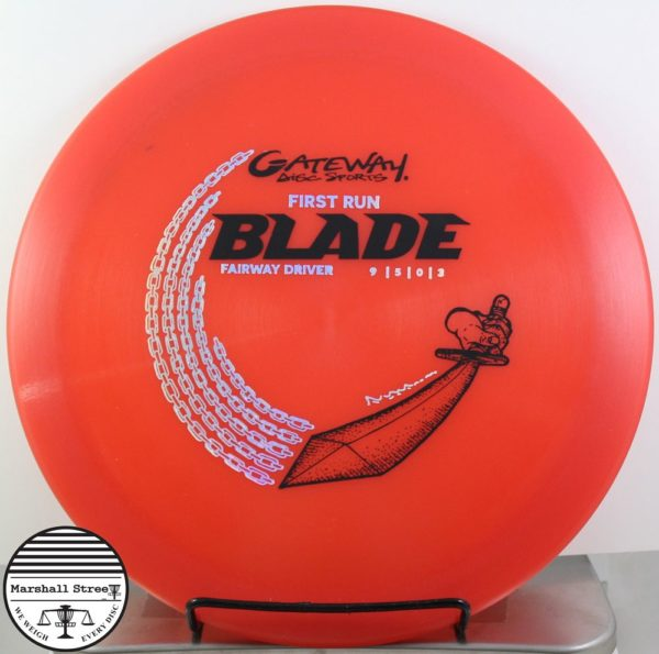 Hyper Diamond Blade, 1st Run