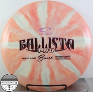 Gold Line Ballista Pro, Burst