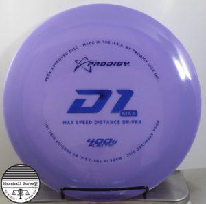 Prodigy D1 Max, 400G