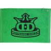 Dynamic Discs Stacked Towel - Lime, 16x24