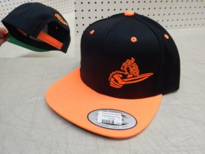 Crank Flat Bill Snap Hat, 2Tone