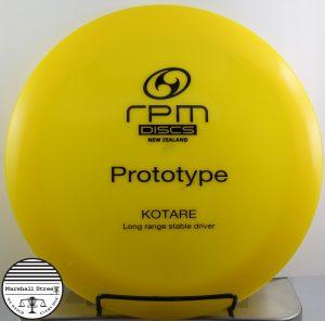 Atomic Kotare, Prototype