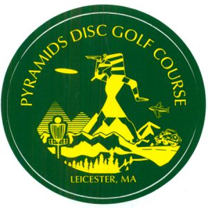 Pyramids DG Course Sticker