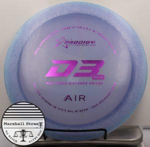 Prodigy D3 Max, Air