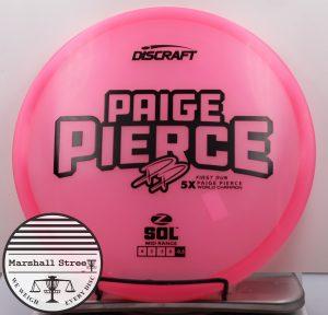 Z Sol, Pierce 5x 1st Run