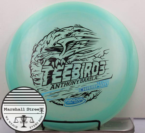 Glow Champion Teebird3, Barela
