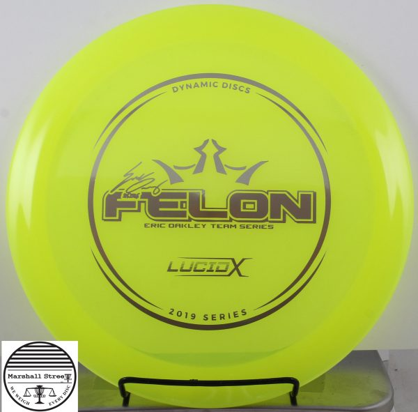 Lucid-X Felon, Eric Oakley'19