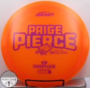 Z Undertaker Pierce 5x 1st Run