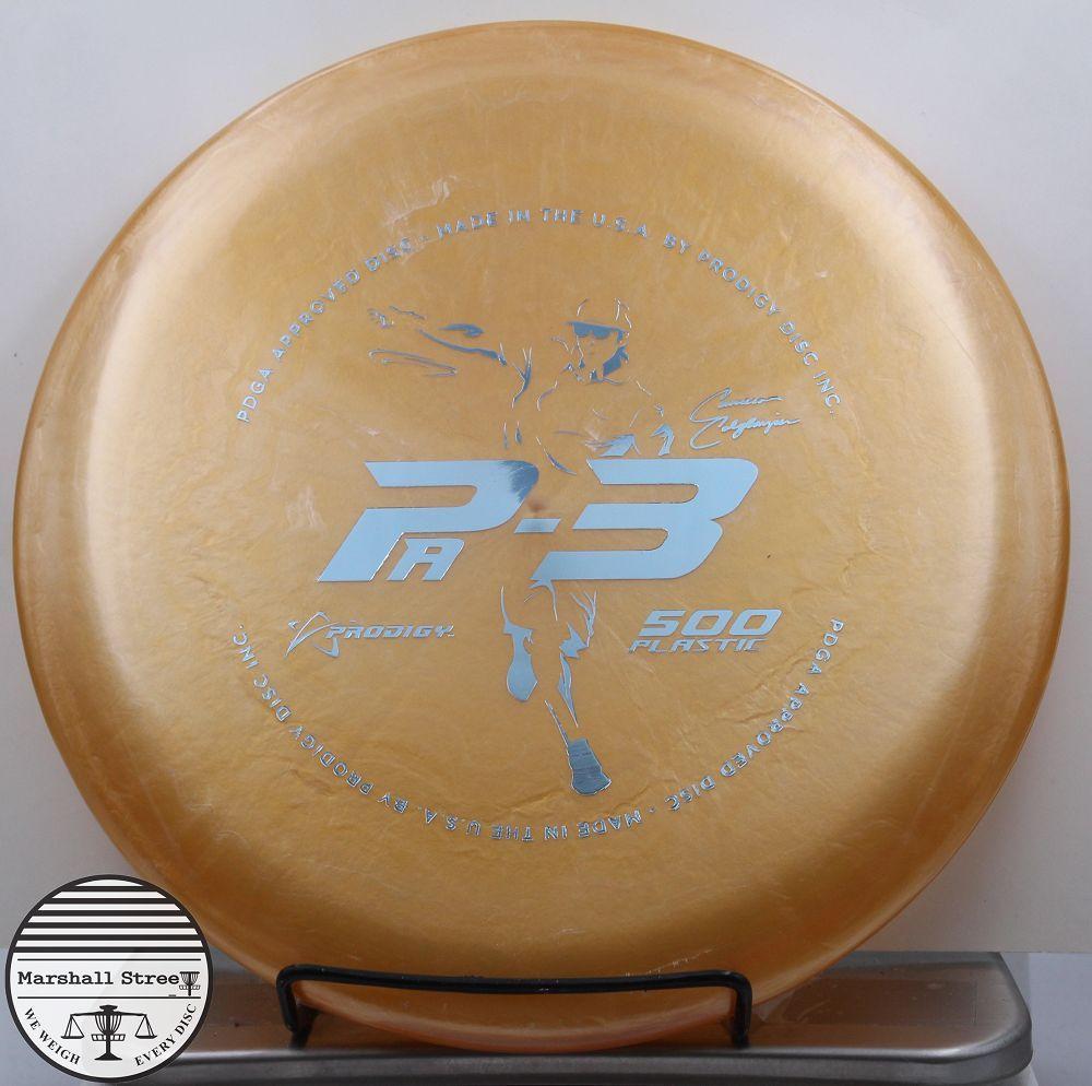 Prodigy PA3, 500 C Colglazier