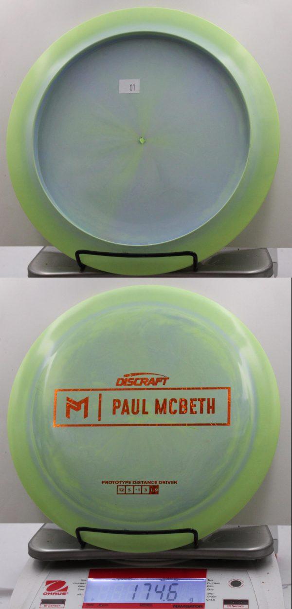 ESP Zeus, Paul McBeth Prototyp