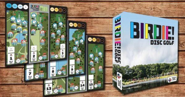 Birdie Disc Golf Board Game